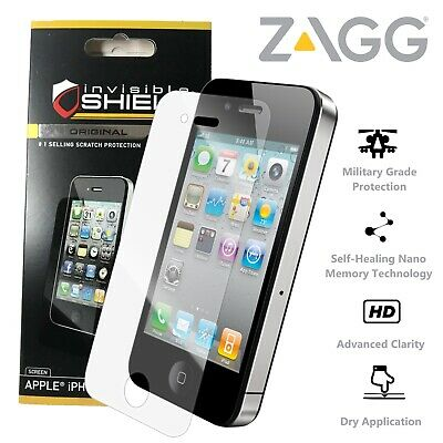 £3.99 • Buy ZAGG Apple IPhone 4 4S Invisible SHIELD Screen Protector Self Healing Military