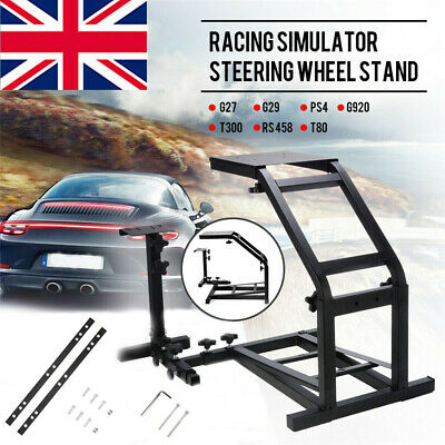 £47.98 • Buy Racing Simulator Steering Wheel Stand For G29 G25 G920 PS4 458 T80 UK STOCK