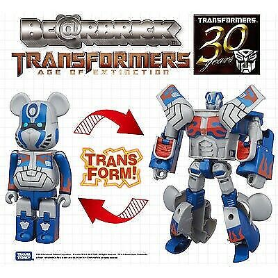 $72.73 • Buy Hasbro X BearBrick Transformers Age Of Exctinction OPTIMUS PRIME