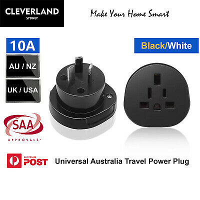 AU28 • Buy 2x SAA Approval Universal Australia Travel Power Plug Adapter Converter AU/US