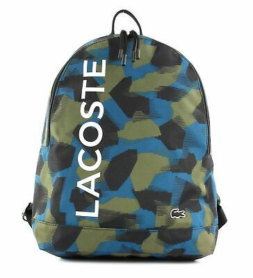 LACOSTE Backpack Backpack Brousse Camou • 87.53£
