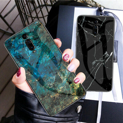 AU6.86 • Buy For Xiaomi Mi 9 SE 9T Play Case Luxury Marble Tempered Glass Hard Phone Cover