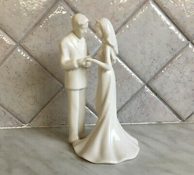 Enesco Lasting Memories Wedding Figurine - With All My Heart 112008 - Rare • 15.99£