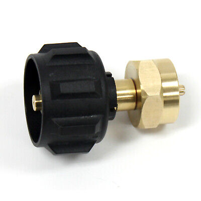 $9.25 • Buy 1Lb Propane Cylinder Brass Refill Adapter For QCC1 Type1 ACME Propane Tank
