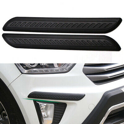 $18.31 • Buy Accessories Parts Car Bumper Corner Plate Rubber Sticker Anti Scratch Protector