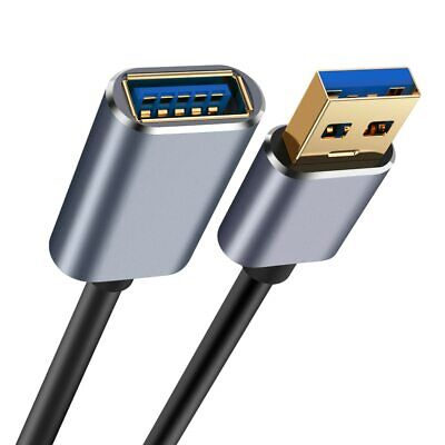 AU7.99 • Buy USB 3.0 Male To Female SuperSpeed Data Sync Fast Charging Extension Cable AU