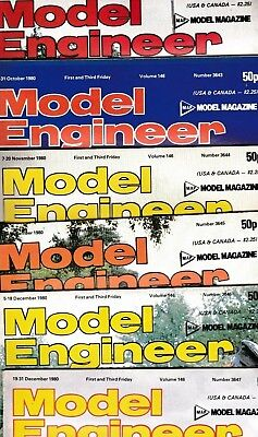£3.95 • Buy Various Issues Of MODEL ENGINEER Magazine From January 1980 To December 1983