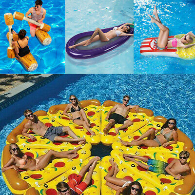 NEW Inflatable Giant Swim Pool Floats Raft Swimming Fun Water Sports Beach Toy • 14.99£