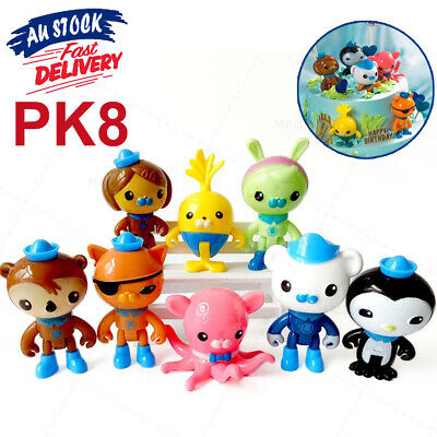 AU10.95 • Buy 8PCS Octonauts Octo-Crew Action Childrens Toy Figure Collection Kid Gift Doll
