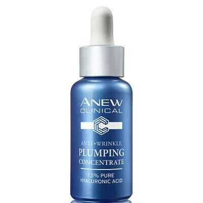 Avon Anew Clinical Anti-Wrinkle Plumping Concentrate ~ 1.5% Pure Hyaluronic Acid • 12.60£