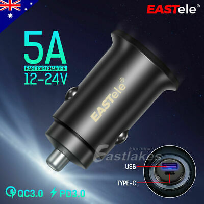 AU17.95 • Buy FAST CHARGING USB-C Car Charger For Apple IPhone 13 12 Mini 11 Pro Max XS XR SE