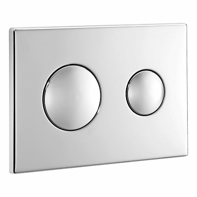 Ideal Standard Replacement Dual Flush Unbranded Flushplate Chrome S4399AA • 47.90£