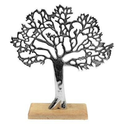 Tree Of Life On Wooden Base Ornament Sculpture Statue Antique Display Home Decor • 14.95£