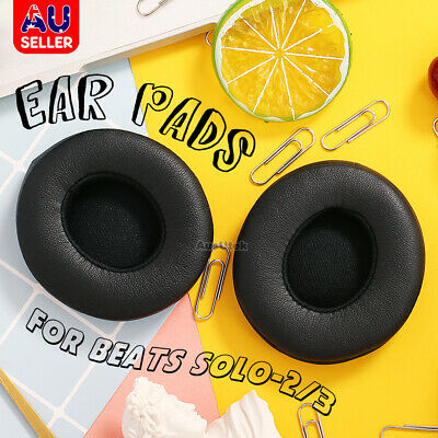AU8.95 • Buy Soft Replacement Ear Pads Cushion Cover For Beats By Dr Dre Solo 2/3 Headphone