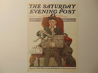 $ CDN8.94 • Buy Saturday Evening Post May 15,1920  (REPRINT) Norman Rockwell (COVER ONLY)