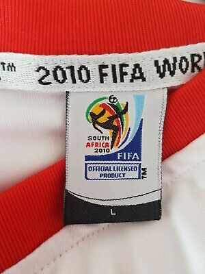 £10 • Buy England Shirt South Africa Fifa World Cup 2010 Size L