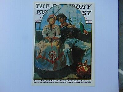 $ CDN10.01 • Buy The Saturday Evening Post Nov 8,1930  (REPRINT) Norman Rockwell (COVER ONLY)