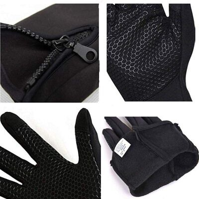 £5.99 • Buy Mens Winter Warm Windproof Cycling Anti-slip Thermal Touch Screen Gloves UK