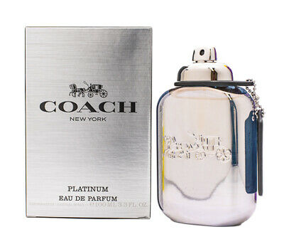 $37.21 • Buy Coach New York Platinum By Coach 3.3 / 3.4 Oz EDP Cologne For Men New In Box