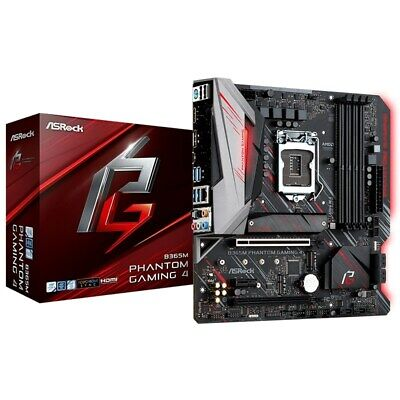 AU204.47 • Buy ASRock B365M Phantom Gaming 4 LGA 1151 M-ATX Motherboard