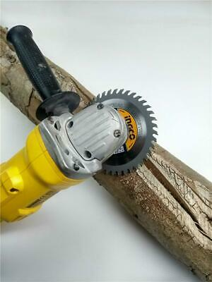 £5.55 • Buy Tct Saw Blade For 4-1/2  115mm Angle Grinder 40tpi 22.2mm Bore Wood Carving