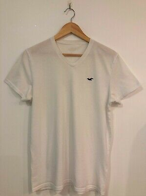 AU14.95 • Buy Hollister White T Shirt Size Small Mens Top Short Sleeve Tee S Beach Party Rave