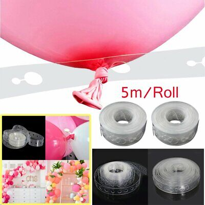 $4.96 • Buy 16FT Balloon Decorating Strip Chain Tape Arch Frame Wedding Birthday Party Decor