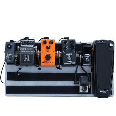 $ CDN69.45 • Buy Electric Guitar Effects Pedal Board And Carrying Bag