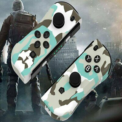$35.62 • Buy Joy-Con Game Controllers Gamepad Joypad For Nintendo Switch Console Camouflage