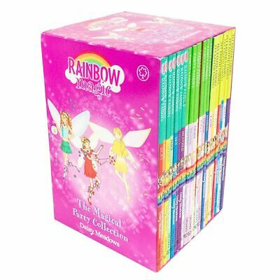 Rainbow Magic The Magical Party Collection 21 Books Set 3 Series By Daisy Meadow • 20.70£