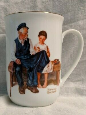 $ CDN8.77 • Buy Vintage 1982 Norman Rockwell Museum   The Lighthouse Keeper's Daughter  Cup Mug