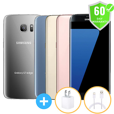 $ CDN183.48 • Buy Samsung Galaxy S7 Edge | Factory Unlocked | GSM AT&T T-Mobile | 32GB | Excellent