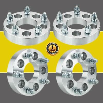 $66.17 • Buy 4Pcs 5x4.5 To 5x5 1.25  Adapters Wheel Spacers For Jeep Wrangler Ford Mustang