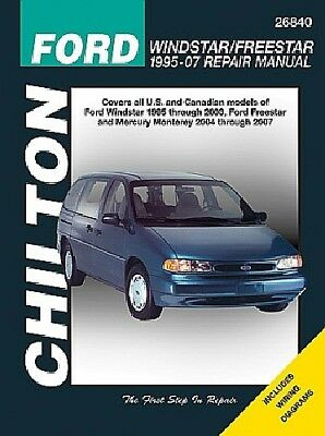 $23.95 • Buy Repair Manual Chilton 26840 For Ford Windstar (1995-2003)