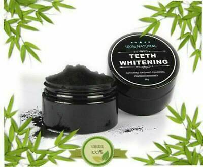 AU6.06 • Buy Natural Organic Activated Charcoal Teeth Whitening Powder Bamboo Toothpaste Hot
