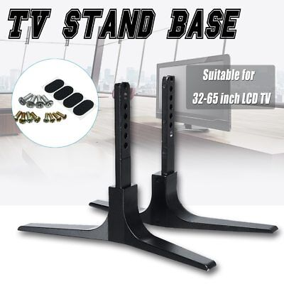 Adjustable Universal TV Stand Table Top Mount Base LCD Flat Screen 32-65inch  • 19.65$