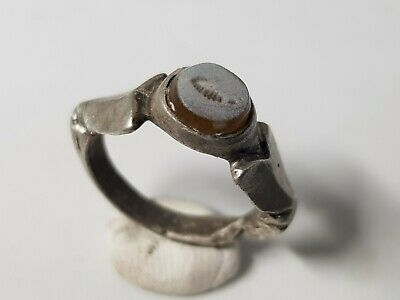 £220 • Buy ROMAN SILVER RING WITH INTAGLIO   2nd,3rd  Century AD