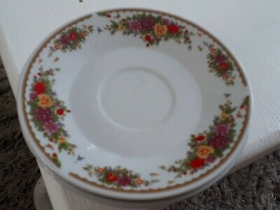 £11.70 • Buy Crown Dynasty 3 X Saucer Floral Pattern