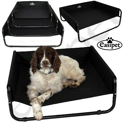 Elevated Dog Bed Pet Cat Raised Sides Camping Cot Indoor Outdoor Waterproof   • 13.99£
