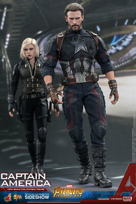 $ CDN363.66 • Buy Hot Toys Avengers: Infinity War CAPTAIN AMERICA 1/6 Scale Action Figure MMS480