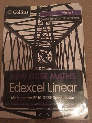 Collins GCSE Higher Maths Practise Book With CD • 4£