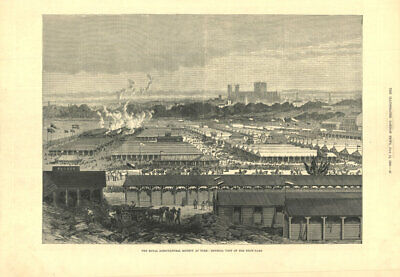 £19.99 • Buy The Royal Agricultural Society At York: View Of The Show-yard. Yorkshire 1883