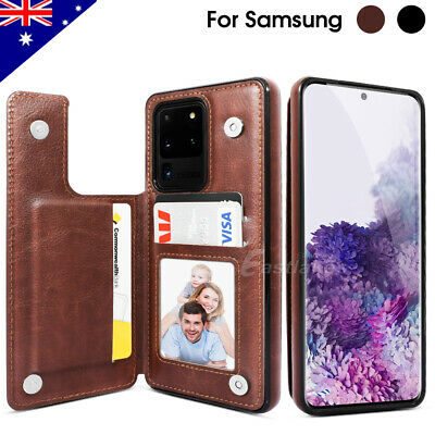 AU9.99 • Buy For Samsung S20 FE Ultra Note 20 Leather Stand Flip Wallet Case Magnetic Cover