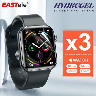 AU7.95 • Buy 3x For Apple Watch 5 4 44&40mm Series 5 4  HYDROGEL Full Cover Screen Protector