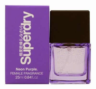 Superdry Neon Purple Eau De Cologne Edc 25ml Spray - Women's For Her. New • 12.99£