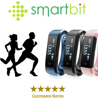 View Details Smart Bit Sports Fitness Tracker Heart Rate Activity Step Fit Bitspeed Watch • 24.95£