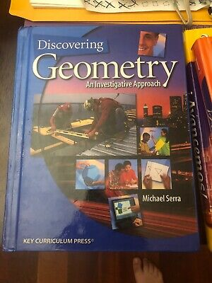 $30 • Buy Discovering Geometry : An Investigative Approach By Michael Serra And Serra...