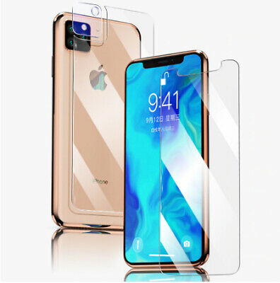 AU5.14 • Buy IPhone Front Side And Back Side 9D Screen Protector Tempered Glass