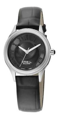 Breil Milano 939 Lady Collection BW0571 Analog Leather Black • 169.75£