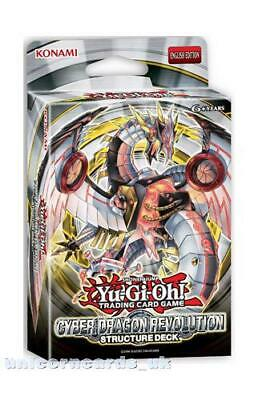 Yu-Gi-Oh! Structure Deck: Cyber Dragon Revolution - Sealed Cards Only, No Box! • 10.89£